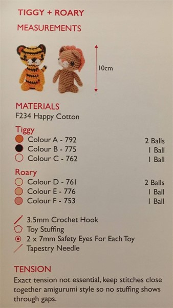 Happy Cotton Pattern Booklet 1 From Sirdar