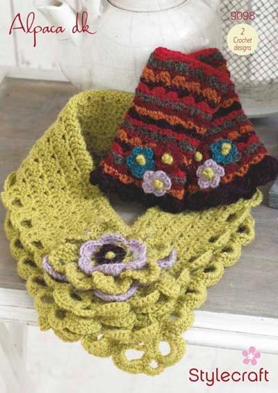 Stylecraft Crochet DK Pattern 9098