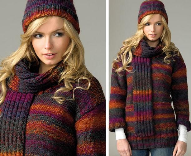 James C Brett Marble Chunky Pattern Jb071 Wool4less