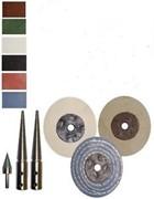 Bench Grinder Polisher Conversion Kit For Polishing all Metal Types  (click for larger image)