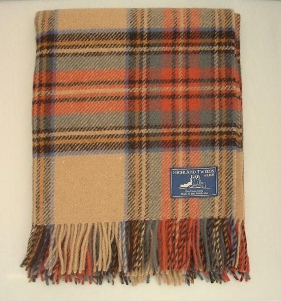 Wool Blanket Online. British Made Gifts. Antique Dress