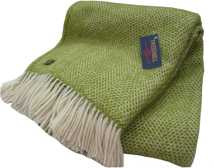 Wool Blanket Online. British made gifts. Honeycomb pure new ...
