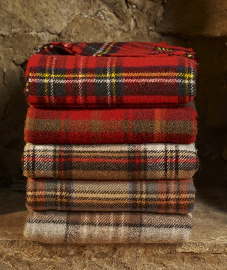 Wool Blanket Online British Made Gifts Mckellar Tartan