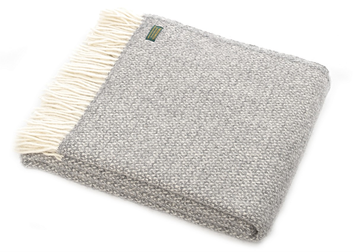 Wool Blanket Online British Made Gifts Illusion Natural
