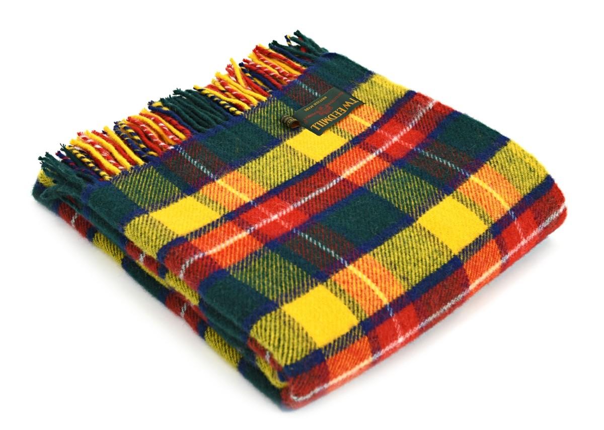 Wool Blanket Online British Made Gifts Bright Buchanan
