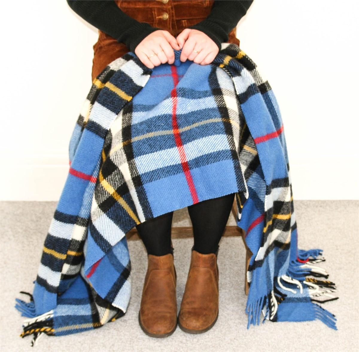 Wool Blanket Online British Made Gifts Tartan Knee Rug