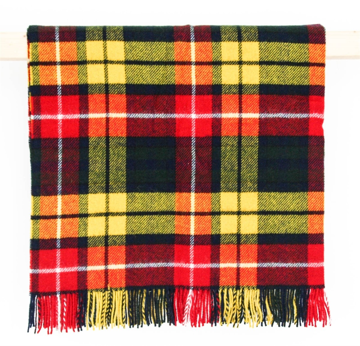 Wool Blanket Online British Made Gifts Buchanan Tartan