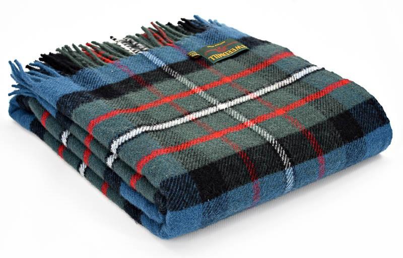 Tartan Wool Picnic Blanket Ferguson Tweedmill